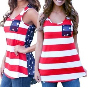 Tops - Stars and Stripes Tank Top